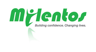 Logo for Milentos - with link to the website