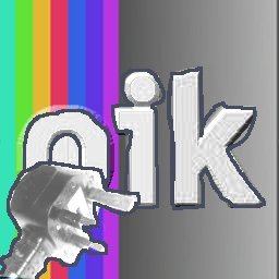 The logo for oik-bwtrace 256x256 pixels inserted into post