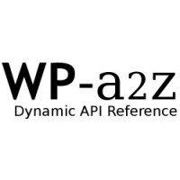WordPress a2z - Dynamic API Reference