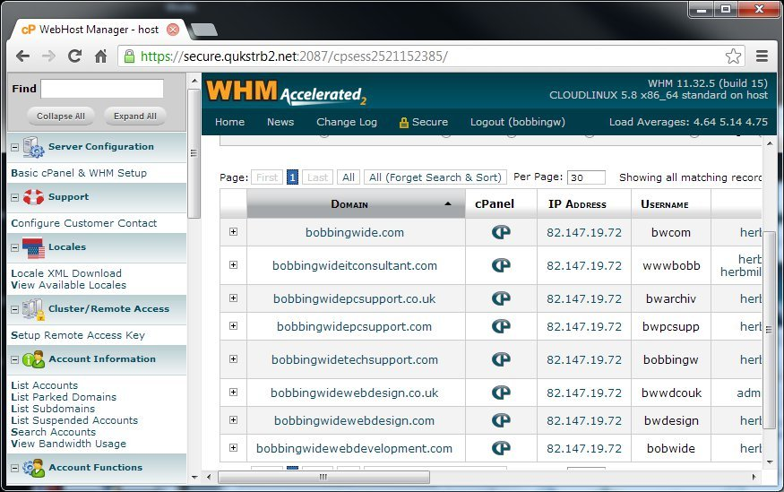 hosting-WHM