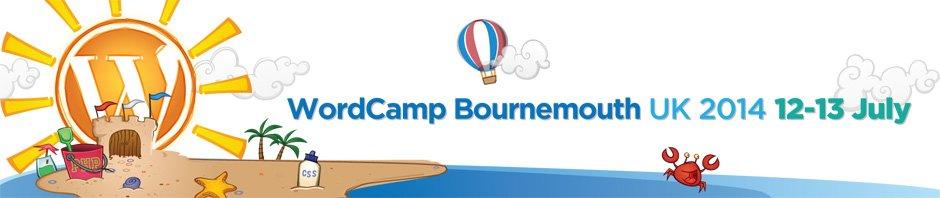 Proud to Microsponsor WordCamp UK – Bournemouth 12-13 July 2014