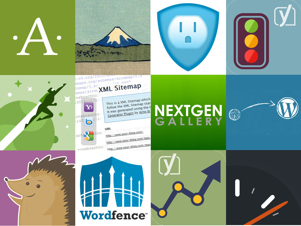 Twelve plugins of WordPress