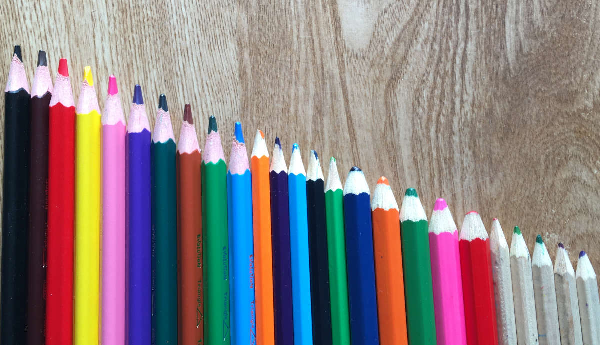 25 pencil tips - representing 25 top tips for SEO